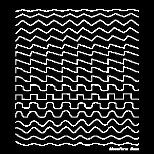 Synthesizer-Wellenform