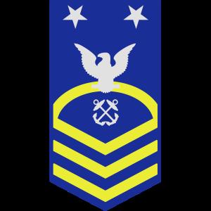 Master Chief Petty Officer MCPO, US Coast Guard