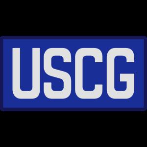 US Coast Guard back patch, Mision Militar ™