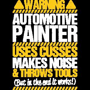 Fahrzeuglackierer Automotive Painter Lackierer