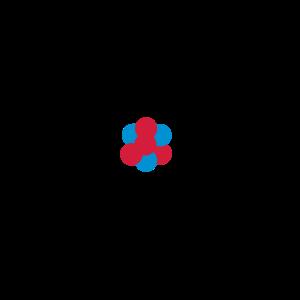 Atom 3farbig