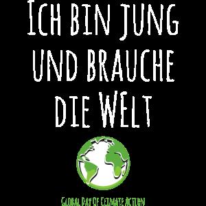 Globaler Klimastreik Klimaschutz Demo Shirt