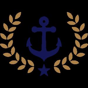 Anker, Kranz, Siegerkranz, Hafen, Segeln, Verein,