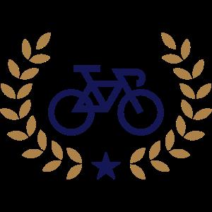 Radsport Kranz, Siegerkranz, Gewinner, Rennen, Rad