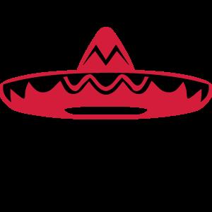 Mexikanischer Hut Schnurrbart 200