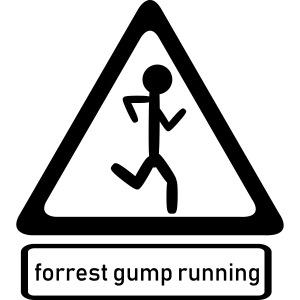 Forrest Gump running