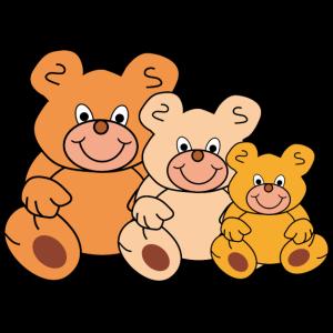 Teddy Teddys Teddybären Gruppe Kind