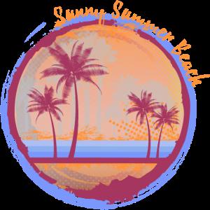 Sunny Summer Beach 02