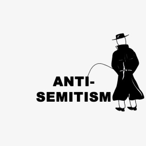Pissing Man against anti-semitism