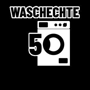 Waschechte 50