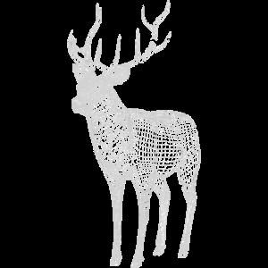 Deer White Lines