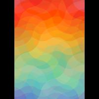Buntes Muster (Wellen)