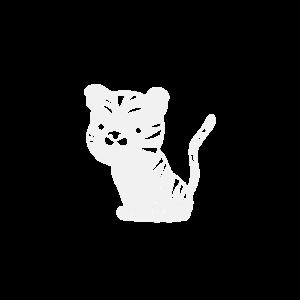 Tiger Baby Süß Cute Cat Kätzchen weiss white