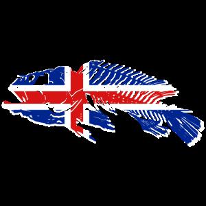 Iceland Fishing Flag