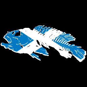 Scotland Fishing Flag