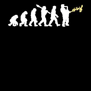 Saxophone Evolution Geschenk