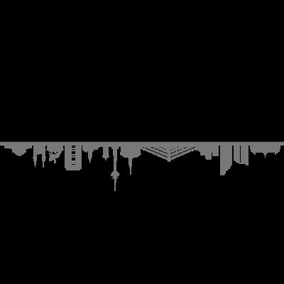 Skyline Düsseldorf - Skyline Düsseldorf - wahrzeichen,stadt,skyline,silhouette,sehenswürdigkeiten,sehenswürdigkeit,rhein,panorama,nrw,haus,düsseldorf,denkmal