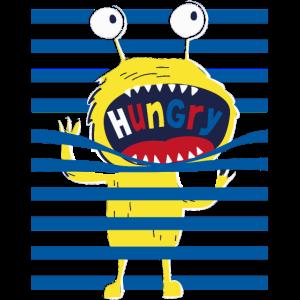 Monster, Kinder, Jungsshirt, hungrig, boy