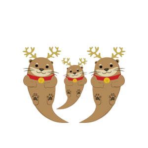 Das ganze Otter-Rentier