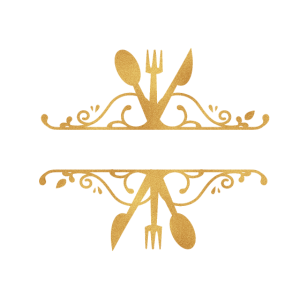 besteck logo gold