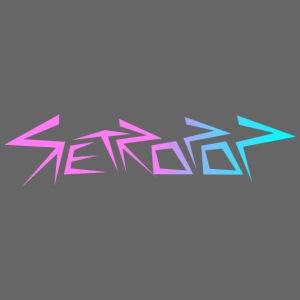 Retropop - Logo värillinen