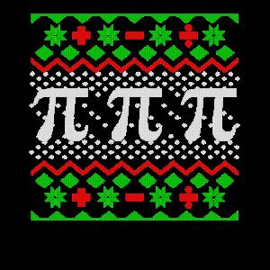 Mathe Weihnachten Geschenk Lehrer T-Shirt