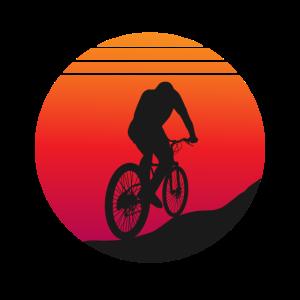 Mountainbike - Sunset