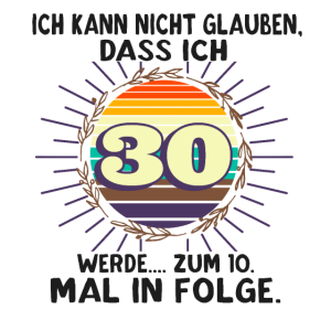 Witziger Spruch zum 40. Geburtstag