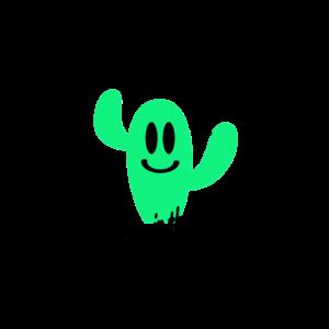 Ich singe im Regen -Kaktus