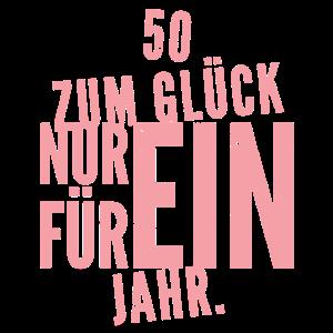 50 Glück Frauen 50. Runder Geburtstag Geschenk