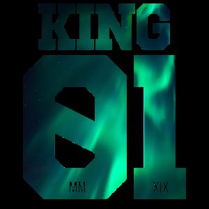 Partnerlook King Queen 01 Geschenk