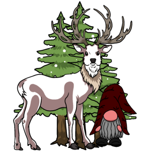 Rudolf Renntiere Xmas Weihnachten Santa Nikolaus