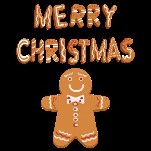 Merry Christmas Lebkuchen Lebkuchenmann