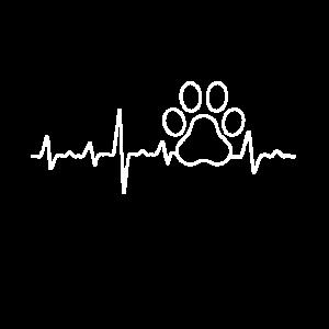 Hunde, Herzschlag, Hundepfote, Hundeliebe