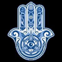 Hamsa Hand der Fatima, Glück & Schutz Symbol