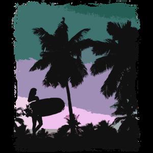 Beach - Surfing - Surfer