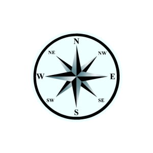 Windrose Kompass Nautik Maritim Kompass