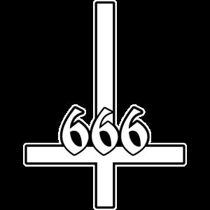 Petrus 666 black and white