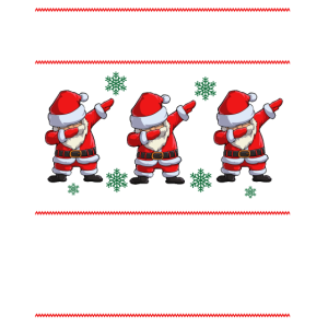 Dabbing through the snow