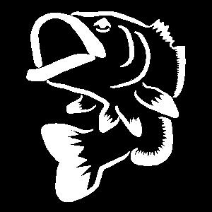 Fisch Barsch Logo - Barsch Angeln