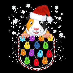 Hamster Meerschweinchen Weihnachts-Shirt