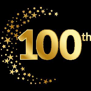 100 Jubiläum Geburtstag Ehrentag Geschenk Jahrtag