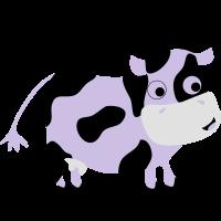 Lustige Kuh Luise - Bauernhof