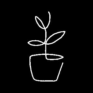 Minimalistische Blume