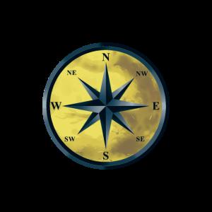 Kompass Windrose Maritim Seefahrt