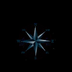 Kompass Nautik Windrose
