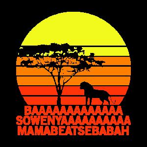 Löwe König Afrika Sonnenuntergang Men Women Kids