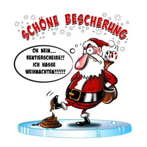 Weihnachtsmann hasst Weihnachten, böser Santa
