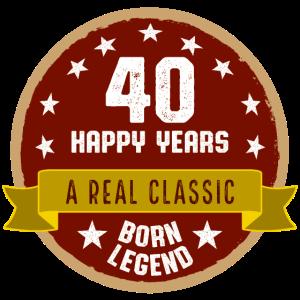 40 Jahre jung