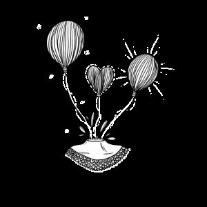 Luftballon Kopf